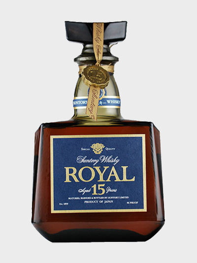 A picture of Suntory Royal 15 Year Old Whisky