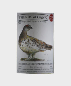 A picture of Acorn-Friends Of Oak Glencadam Distillery- 22 Years Old