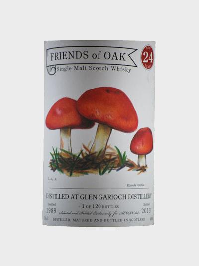 A picture of Acorn-Friends Of Oak Glen Garioch 24 Years Old