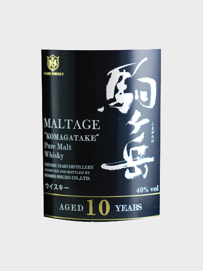 A picture of Mars Maltage Komagatake Pure Malt 10 Years Old