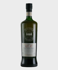 A picture of SMWS 127.37 'Dinosaurs Dancing To Stravinsky' Port Charlotte 9 Year Old