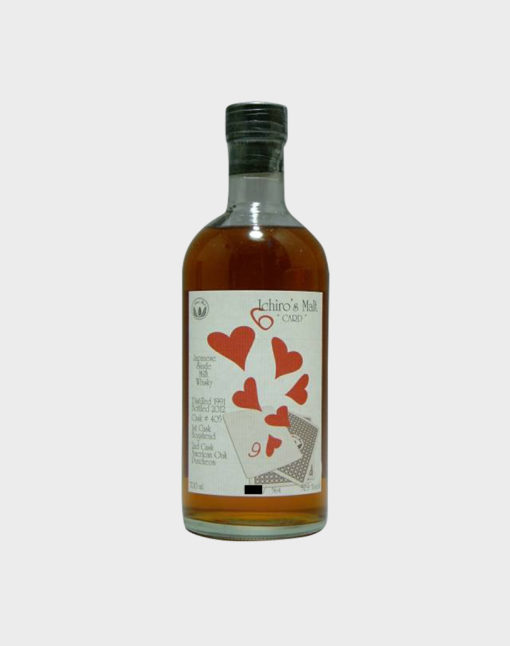 Ichiro Malt Six Of Hearts - very rare japanese whisky
