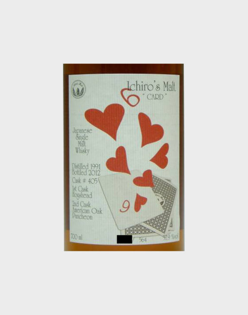Ichiro Malt Six Of Hearts