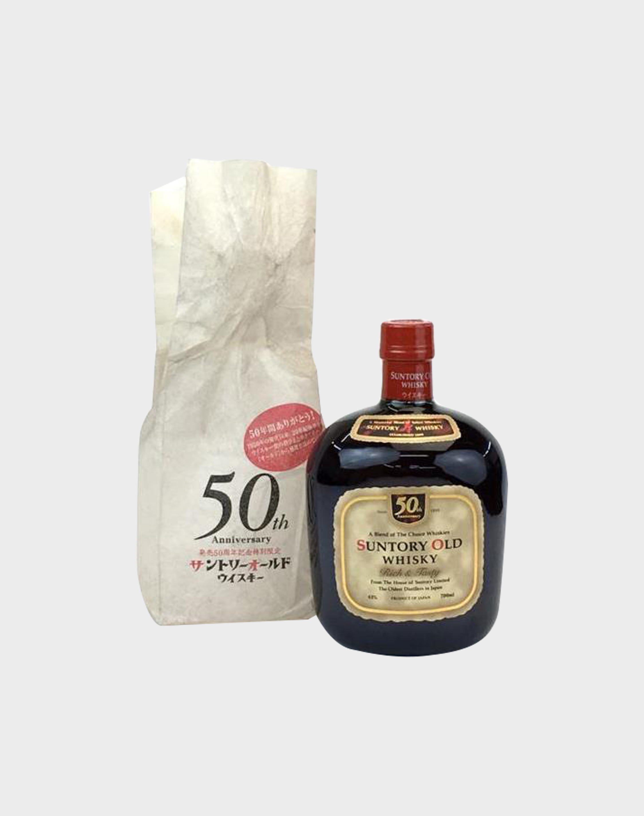 suntory old whisky 50th anniversary japanese whisky dekant. Black Bedroom Furniture Sets. Home Design Ideas