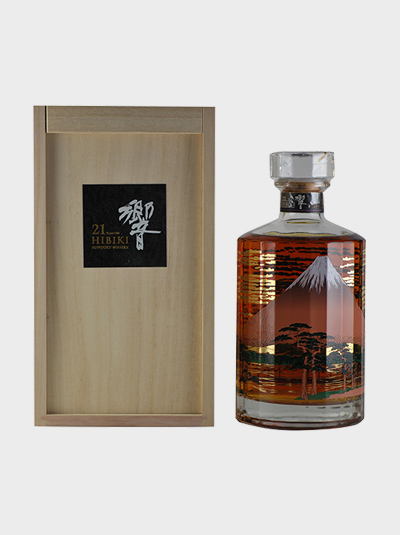 Hibiki 21 Years Old Mount Fuji Limited Edition - dekantā