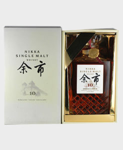 Nikka Yoici 10 year single malt whisky