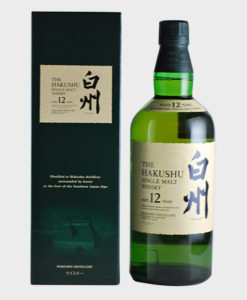 Hakushu 12 Year Old Single Malt Japanese Whisky
