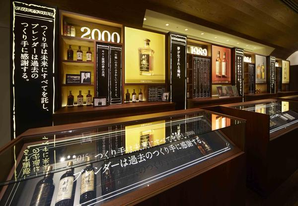 The Nikka history bar