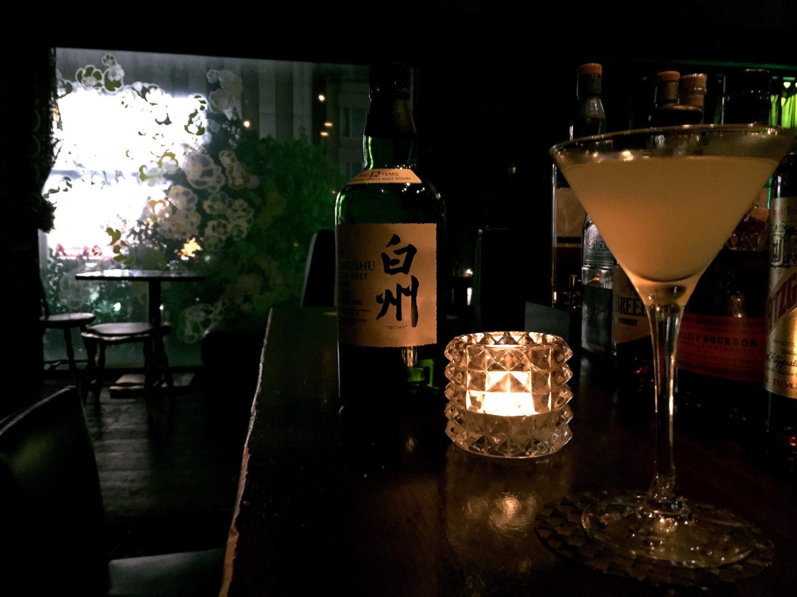 Hakushu cocktails