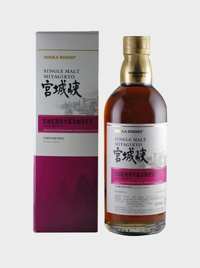 Miyagikyo sherry sweet
