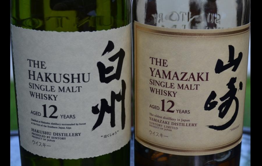 pair the Yamazaki and Hakushu