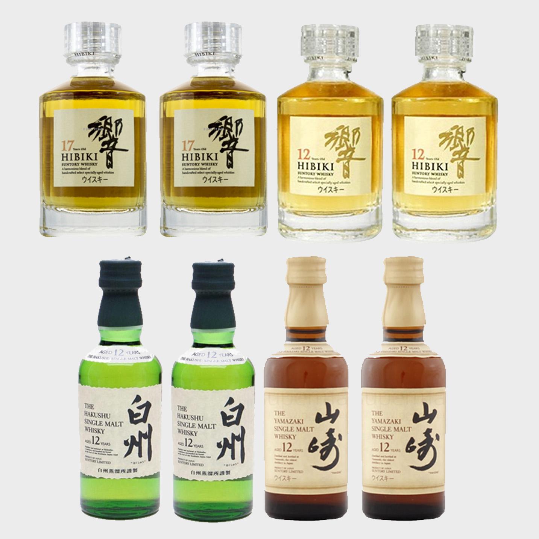 94e730068b27 Suntory Sampler Pack (8 Miniature Bottles)