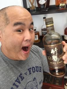 Cheers to Eric and his Taketsuru toast!