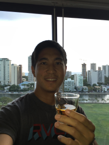 Aloha!  Cityscape toast from Christian.  #JapaneseWhiskyInHawaii