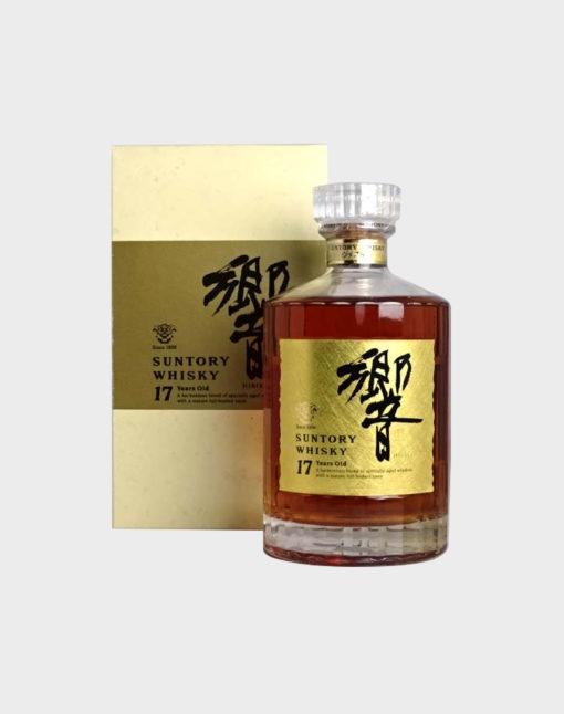 Hibiki 17 years old gold label old final version