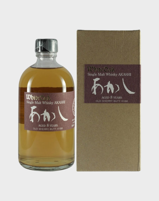 Akashi White Oak Single Malt Whisky 8 Year Old