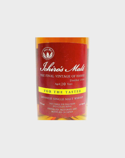 Ichiro's Malt The Final Vintage of Hanyu 10 Year Old for the Taster Single Malt Whisky B