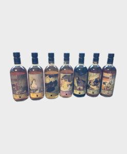Karuizawa ghost series 7 bottles