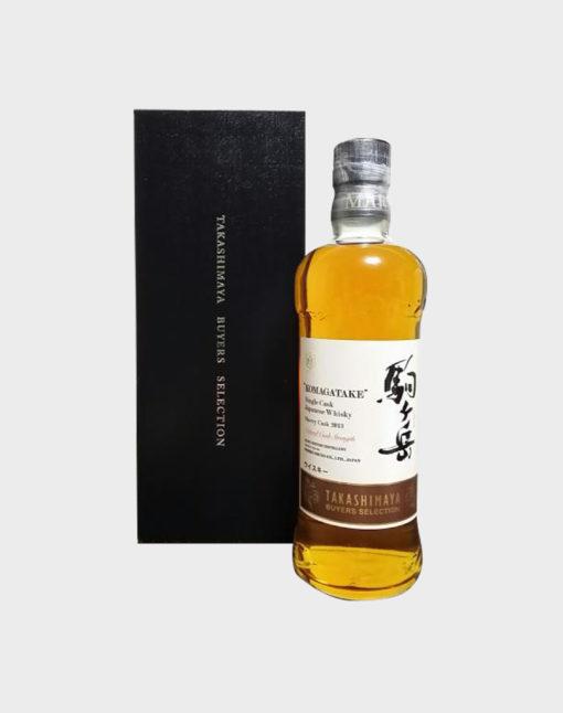 Mars Komagatake 2013 Sherry Cask Takashimaya Buyer's Selection Whisky
