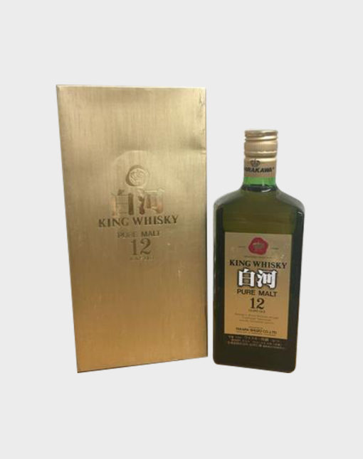 King Whisky Shirakawa Pure Malt 12 Years