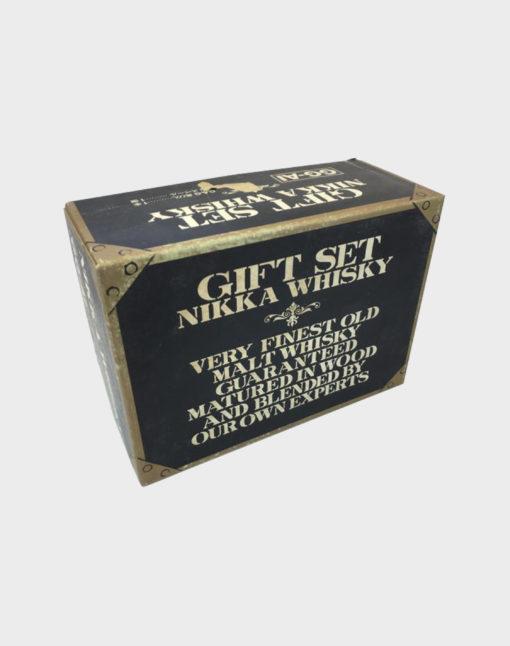 Nikka whisky gift set very finest old malt whisky E
