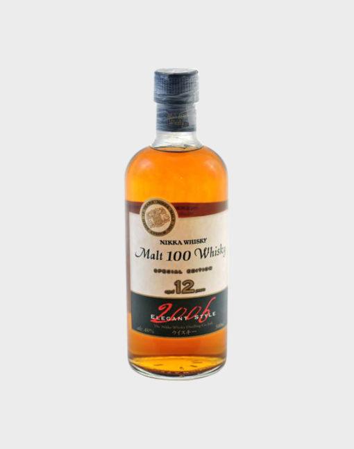 Nikka whisky malt 100 whisky