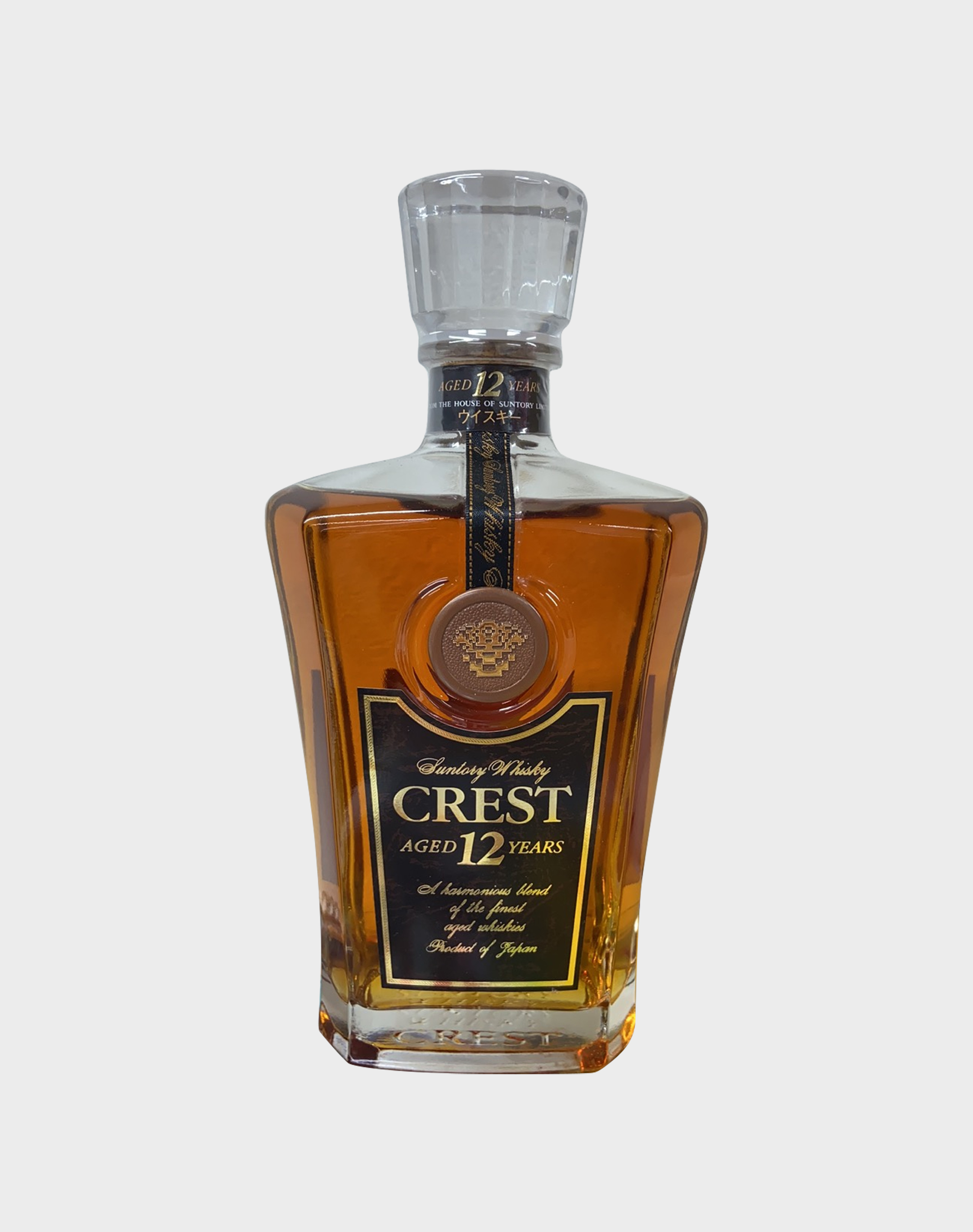 Suntory Whisky Crest 12 Year Old (No Box)