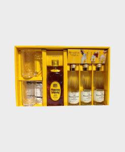 Suntory square bottle set with Yamazaki water A