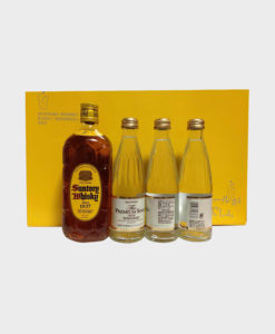 Suntory square bottle set with Yamazaki water B