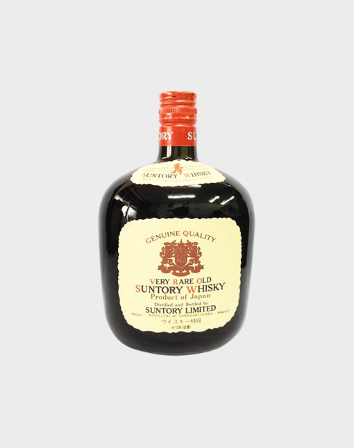 suntory whisky very rare and old A