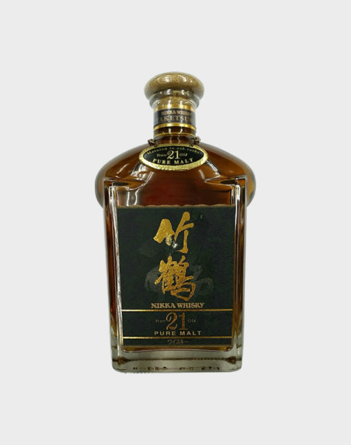 Nikka whisky taketsuru 21 years old pure malt old Rare bottle A
