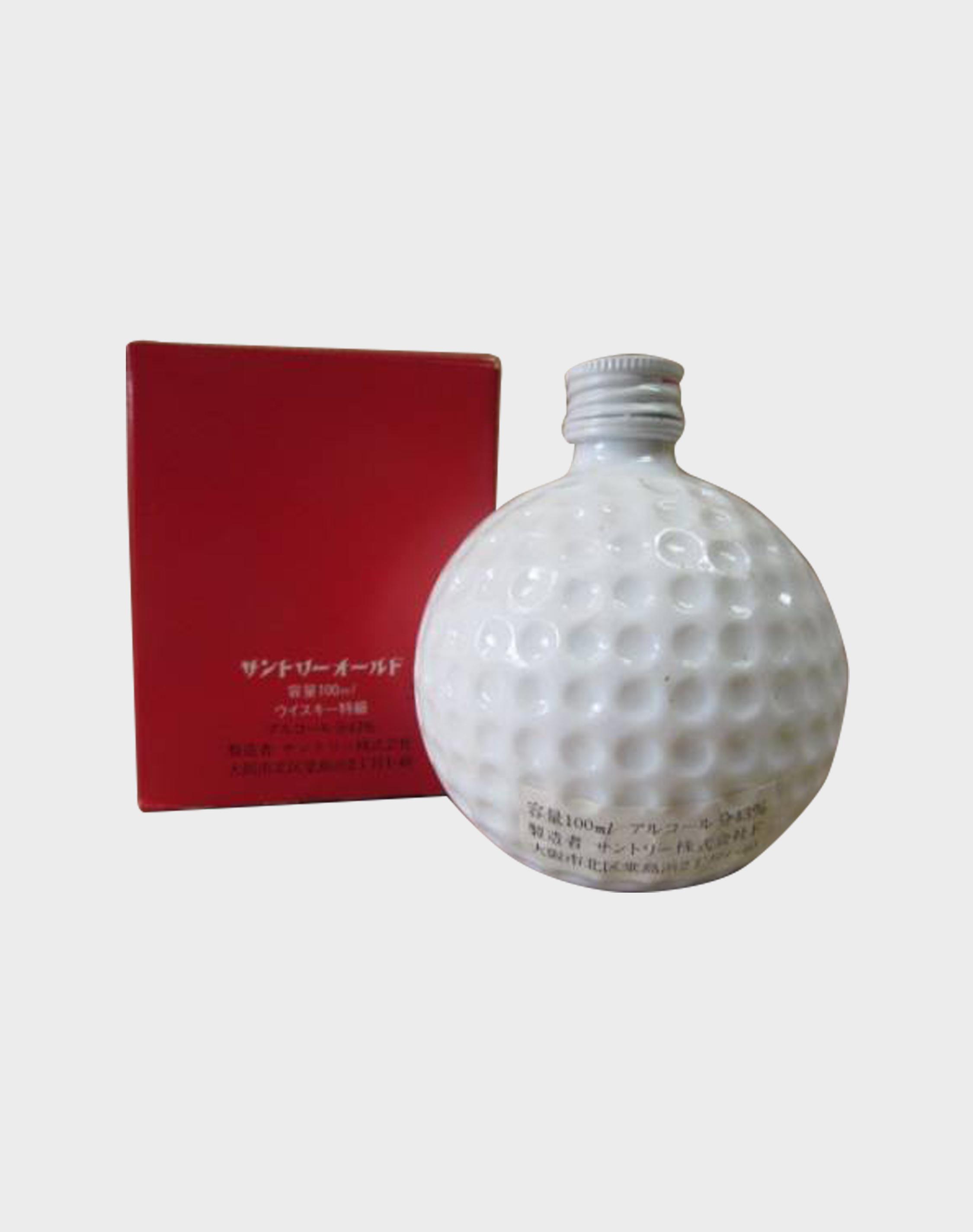 Suntory Old Whisky Ceramic Bottle For Suntory Open Golf