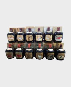 Suntory old whisky complete zodiac  set 12 bottles A
