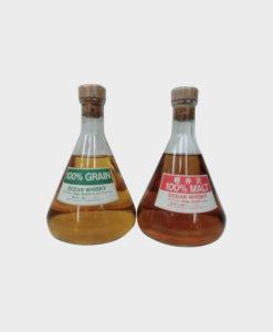 Karuizawa ocean blender's flask 100% malt gift set B