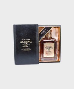 Suntory ageing 15 years old whisky A