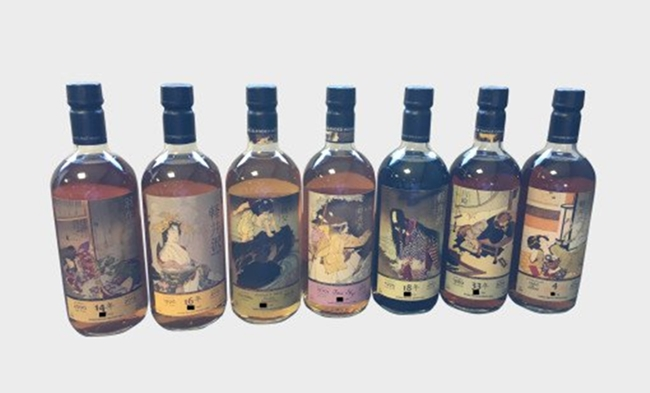 Karuizawa-ghost-series-7-bottles