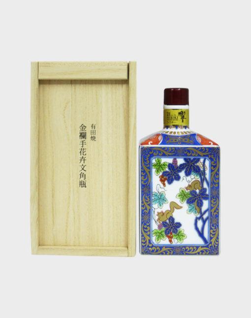 Suntory Hibiki 21 Year Old Arita Yaki Ceramic Bottle