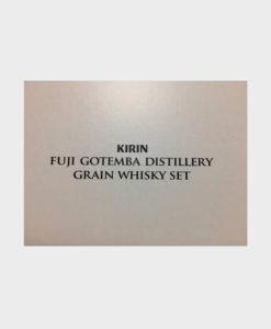 Kirin whiskey single grain gift set 200ml 3 bottles B
