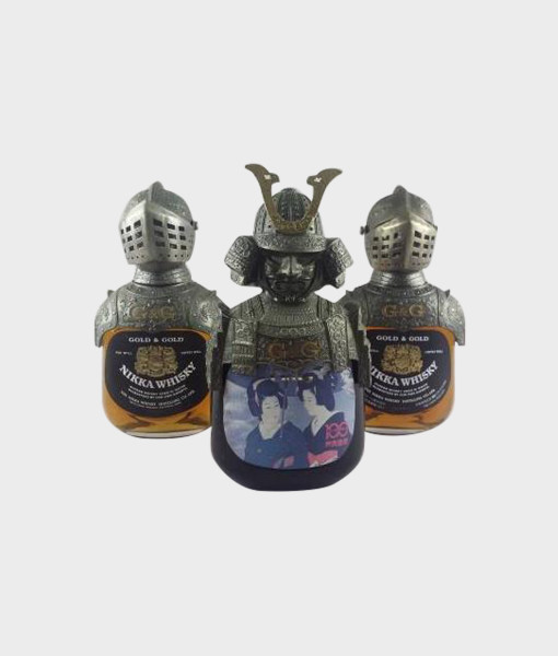 Nikka G & G Armor Knight Samurai Asuhara Onsen 100 years commemoration A