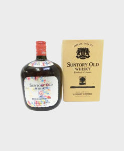Suntory old whisky asahi news papers 100th anniversary A