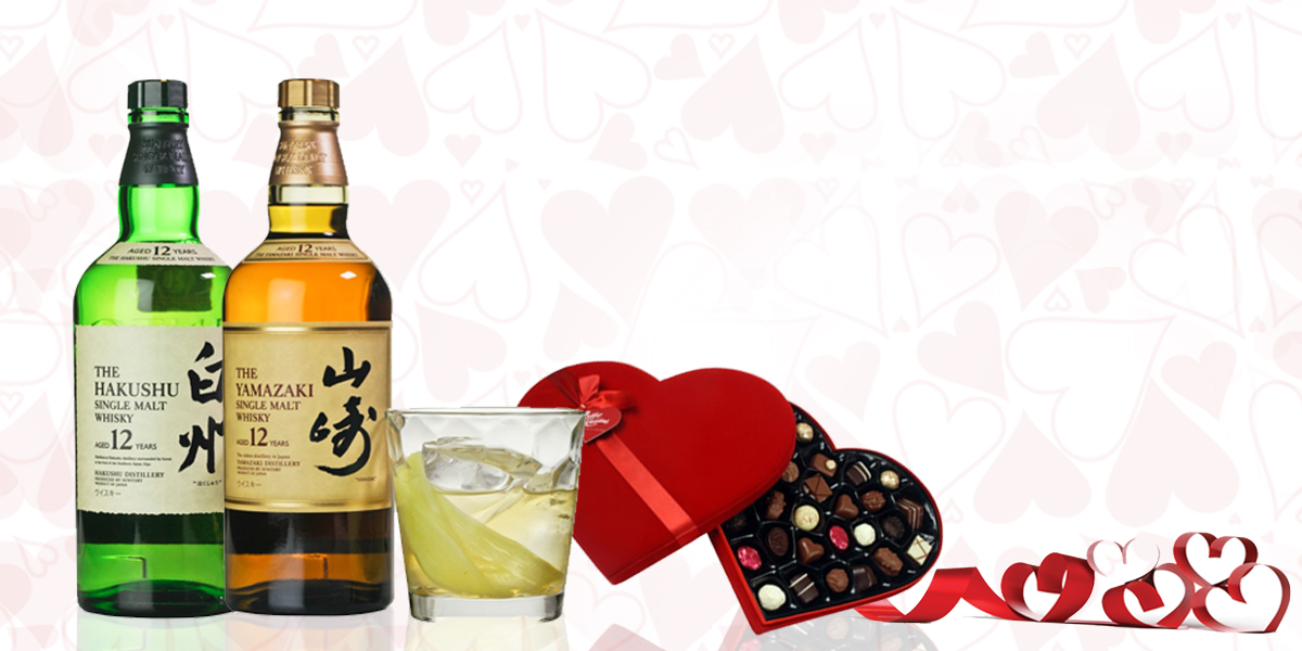 valentine's day Japanese Whisky