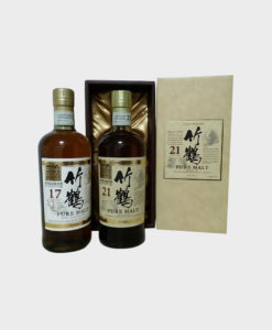 Taketsuru Pure Malt 17 Year and 21 Year Set