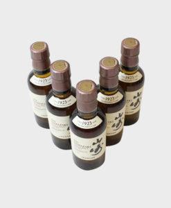 Yamazaki 1923 the 5 bottles set B