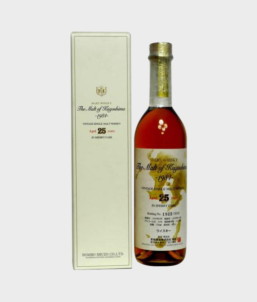 Mars Whisky The Malt of Kagoshima 1984