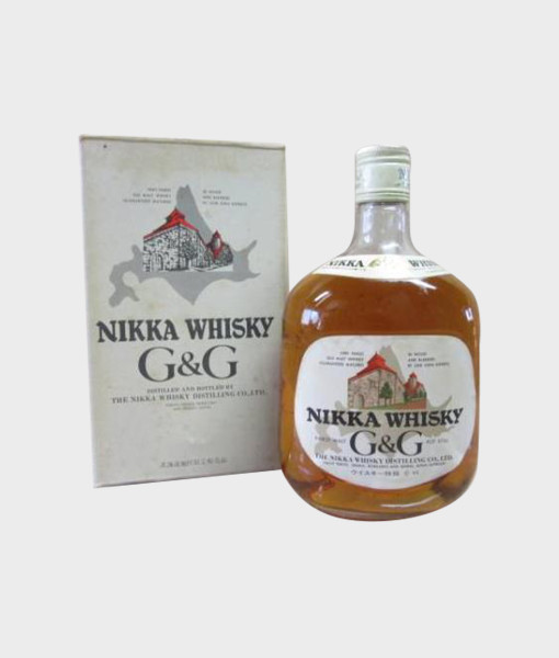 Nikka Whisky G&G Bottle With Box