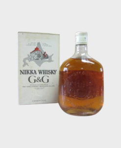Nikka Whisky G&G Bottle With Box B