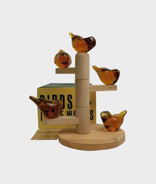 Suntory Whisky EXPO '85 Tsukuba Birds Set