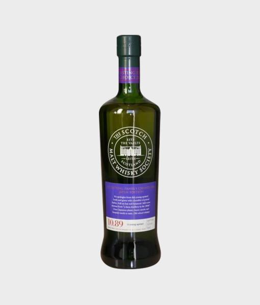 Bunnahabhain 9 Years Old SMWS bottle 10.89