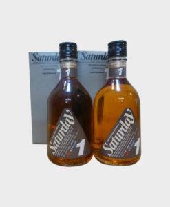 Kirin Saturday Whisky 2 bottle set
