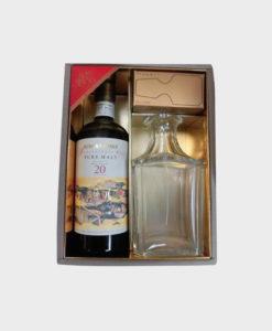 Nikka Whisky Anniversary Malt 20 Years Gift Set B